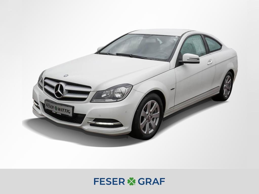 Mercedes-Benz C 180 Coupe CGI Aut. GRA/Tel/NAVI/el.Sitz+Sitzh., Jahr 2012, petrol