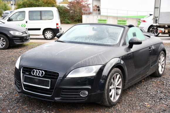Audi TT Roadster TDI qua. Navi Xenon Händler/Export, Jahr 2014, diesel