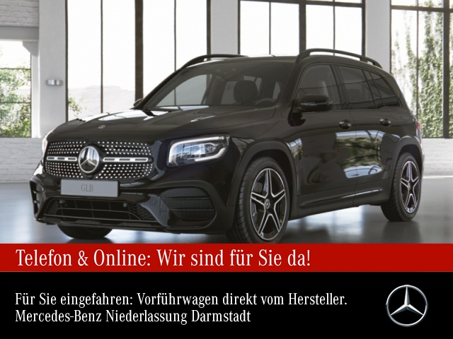 "Mercedes-Benz GLB 200 Sport-AMG Night AMG 19"" LED PTS Tempomat, Jahr 2021, petrol"