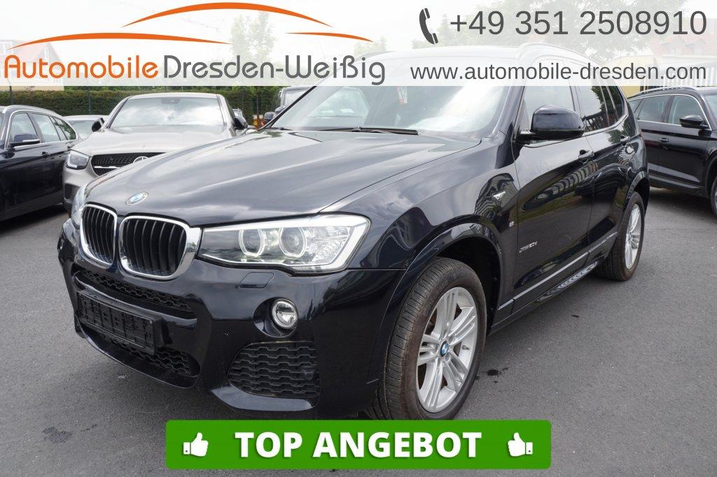 BMW X3 xDrive20d M Sport*Navi Prof*Leder*Pano*HiFi*, Jahr 2017, Diesel