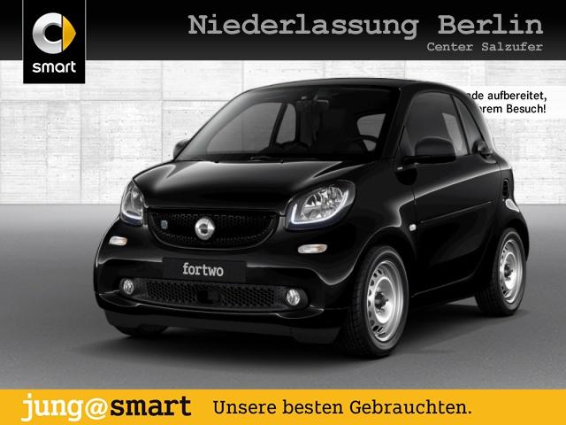 smart fortwo coupé60kWed passion BRABUS greenflash Nav, Jahr 2018, Elektro
