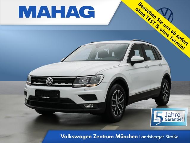 Volkswagen Tiguan Comfortline Rear View Navi SZH Tiguan 1.5actCLOPFFR 96 TSIM6F, Jahr 2021, Benzin