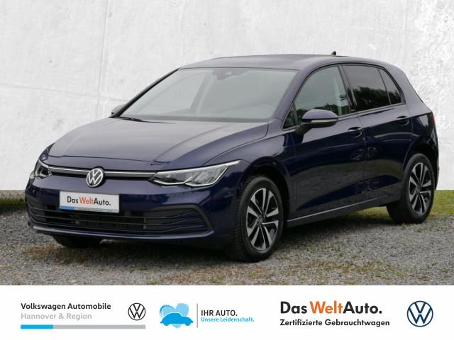 Volkswagen Golf VIII 1.0 TSI United Navi LED digCockpit PDC SHZ, Jahr 2020, Benzin