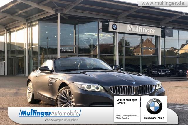 BMW Z4 sDr.18i Sp-A.Leder Xenon Sitzh.Navi HiFi PDC, Jahr 2015, petrol