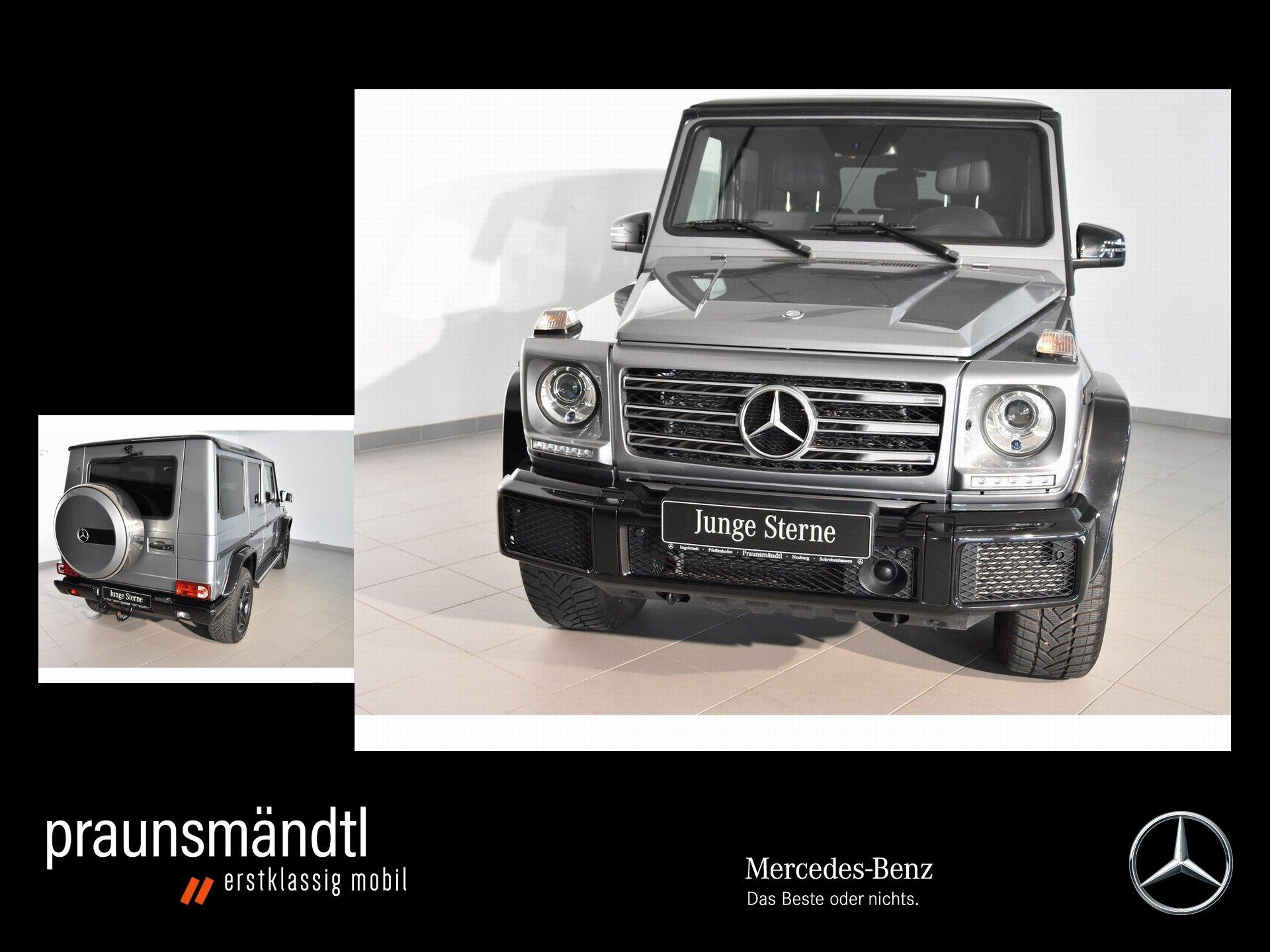 Mercedes-Benz G 350 d Sport Exkl. AHK/Distro/Sound/Schiebd/Tot, Jahr 2017, Diesel