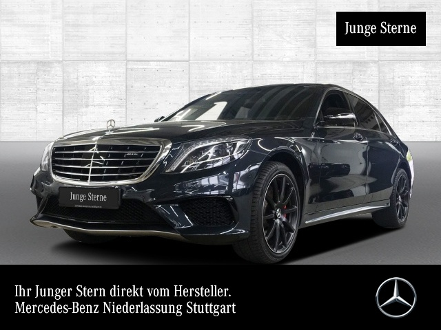 Mercedes-Benz S 63 4MATIC lang Sportpaket Head Up Display Navi, Jahr 2016, Benzin