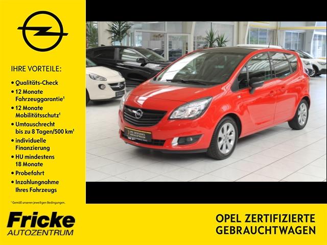 Opel Meriva B Color Edition/LED-Tagfahrlicht/Multif.Lenkrad/Klimaautom, Jahr 2014, Benzin
