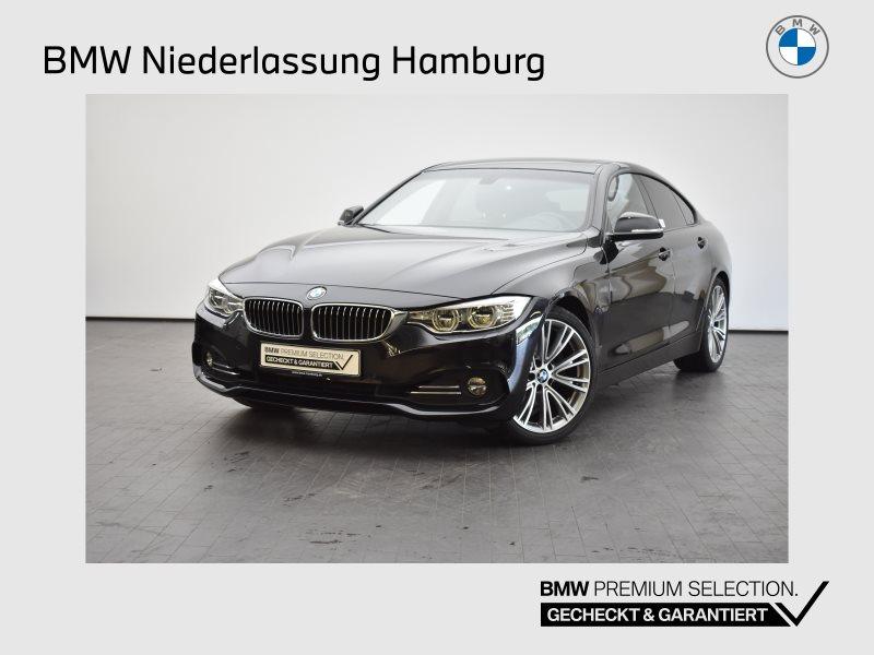 BMW 430i Gran Coupé Luxury Line HK HiFi DAB LED GSD, Jahr 2017, Benzin