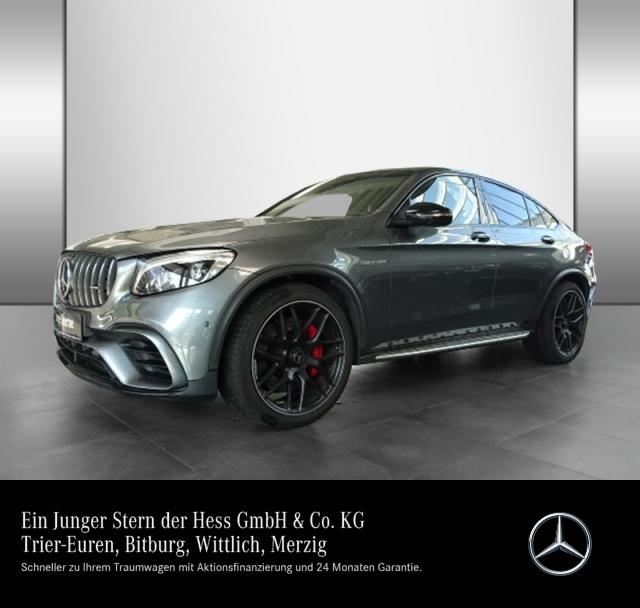 Mercedes-Benz GLC 63 S 4M AMG Drivers P. + Head-up + SDE + + B, Jahr 2018, Benzin