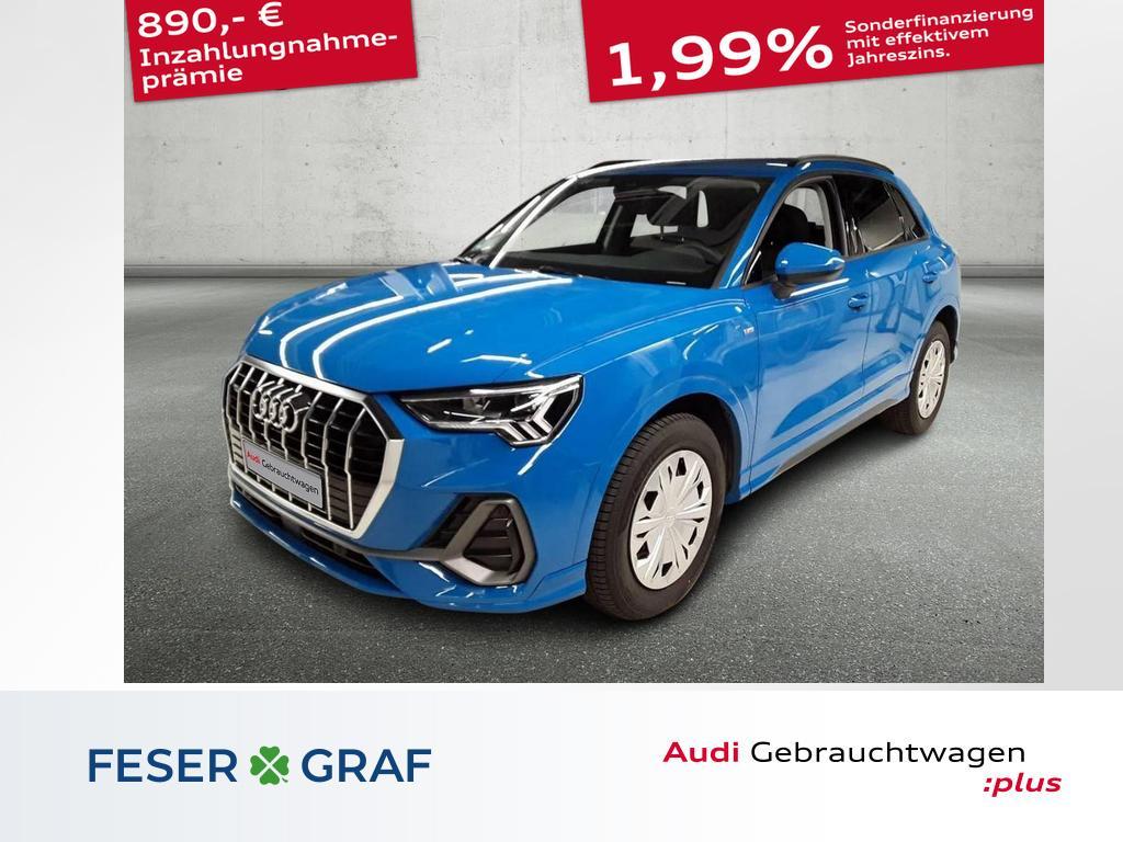 Audi Q3 S line quattro 35 TDI ACC/Alu18/PDC+/LED/APPs, Jahr 2020, Diesel