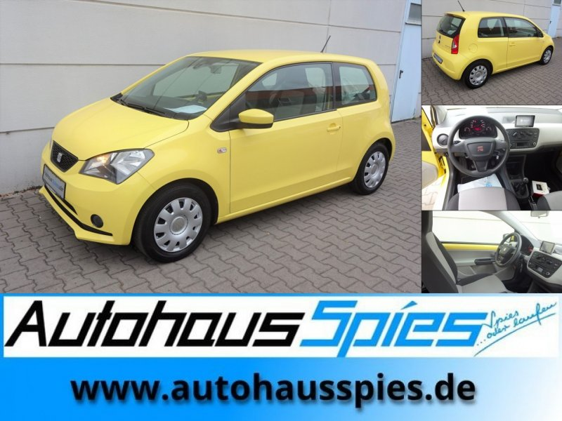 Seat Mii 1.0 Ecomotive Style Navi Bluetooth SHZ, Jahr 2014, petrol