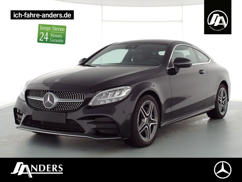 Mercedes-Benz C 220 d Coupé AMG+Spur-P+LED+Kamera+Navi+PDC+SHZ, Jahr 2020, Diesel