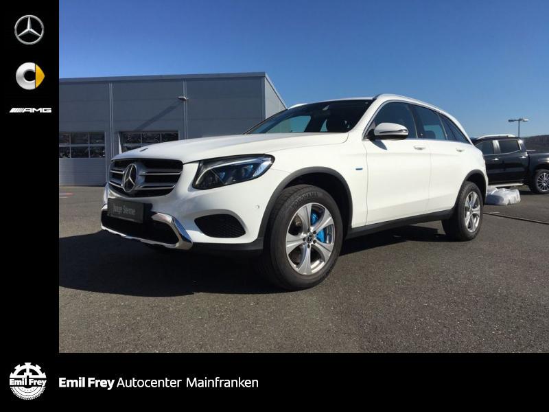 Mercedes-Benz GLC 350 e 4M PlugIn+AHK+Distro+LED+Exclusive, Jahr 2017, Hybrid