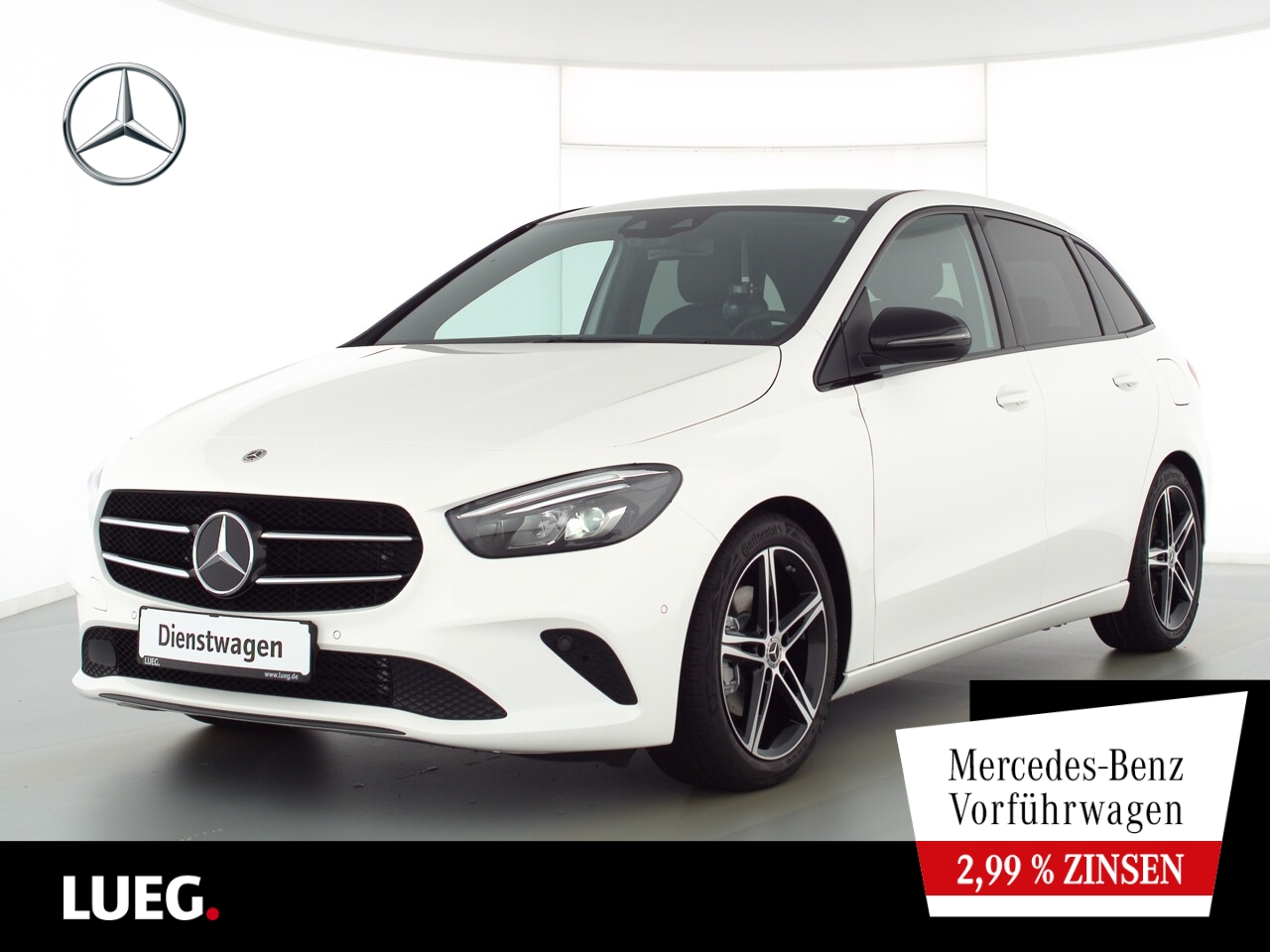 Mercedes-Benz B 200 Night+LED+AHK+PDC, Jahr 2021, Benzin