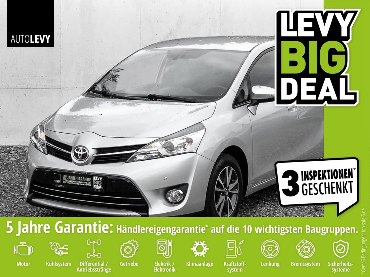 Toyota Verso 1.8 7-Sitzer Comfort LED SHZ PDC, Jahr 2014, Benzin