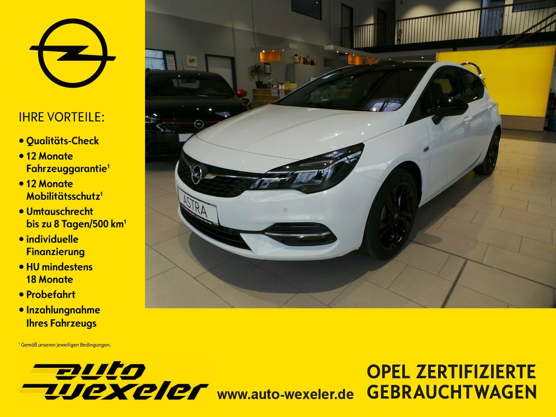 "Opel Astra K GS Line S/S,Black-Roof,Sitzheiz.,17"", Jahr 2021, petrol"