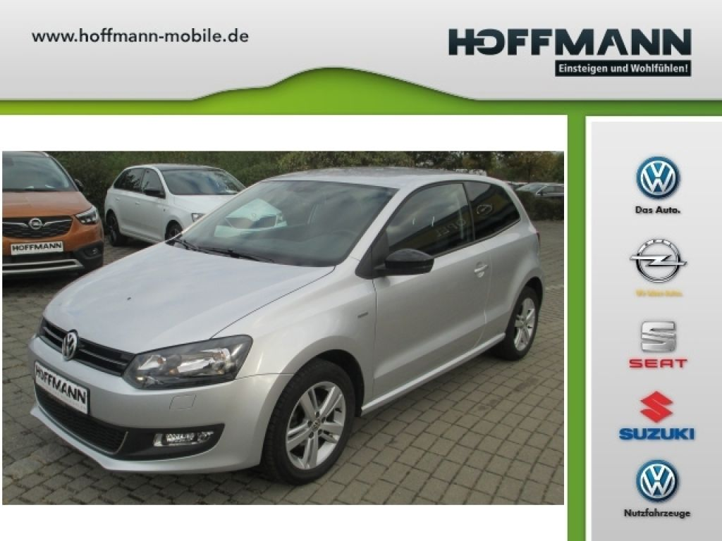 Volkswagen Polo 1.2 MATCH PDC hinten, Jahr 2012, petrol