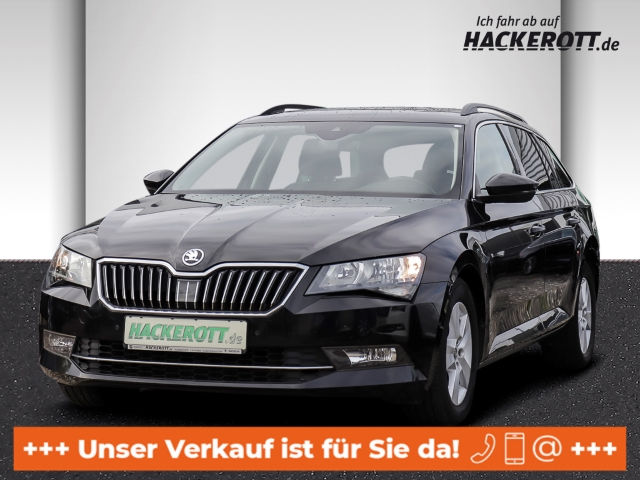 Skoda Superb Combi Ambition 2.0 TDI DSG Parklenkass. e-Panodach e-Heckklappe PDCv+h, Jahr 2016, Diesel