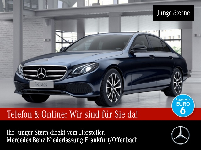 Mercedes-Benz E 220 d Avantgarde LED Night Kamera PTS 9G Sitzh, Jahr 2018, Diesel