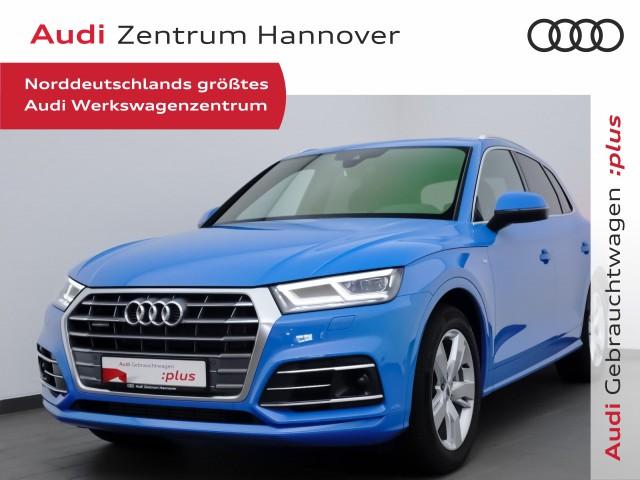 Audi Q5 Sport 50 TFSIe AHK Pano Matrix LED Navi, Jahr 2020, Hybrid