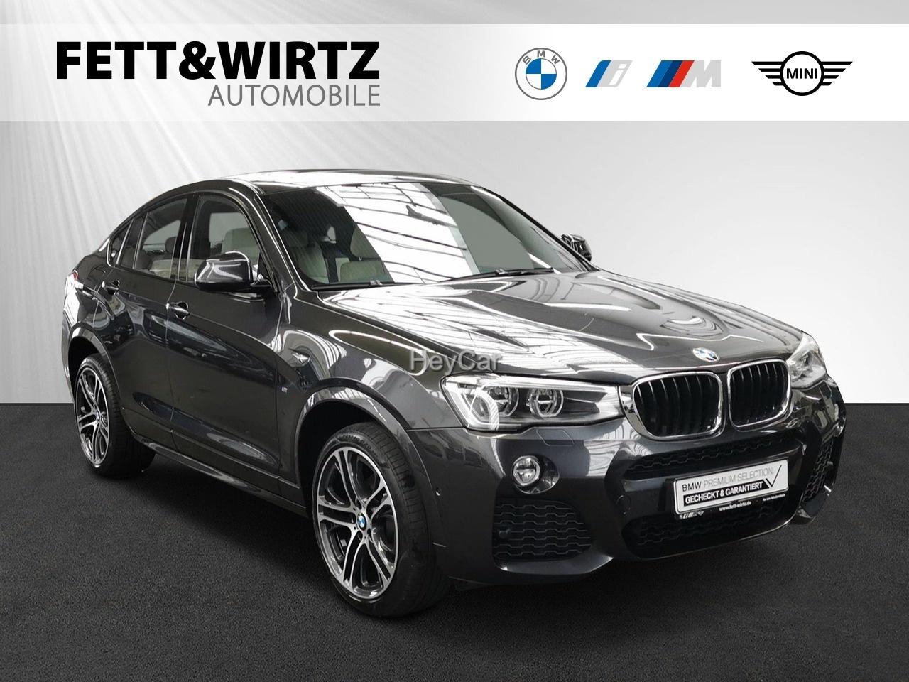 BMW X4 xDrive20d M Sport NaviProf. AHK HUD GSD HiFi, Jahr 2017, Diesel