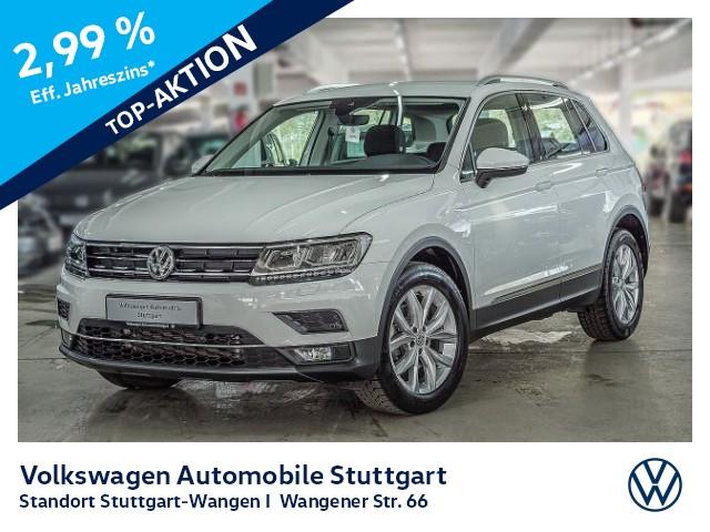 Volkswagen Tiguan Highline 2.0 TDI DSG LED ACC Bluetooth SHZ, Jahr 2018, Diesel