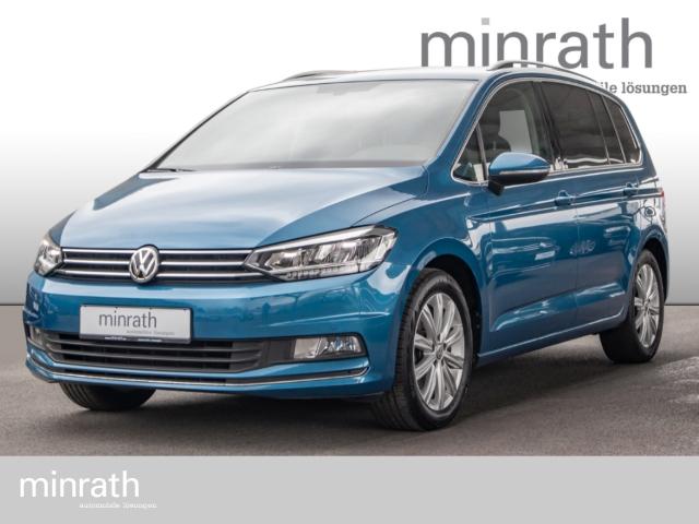Volkswagen Touran Highline 1.4 TSI LED Navi Rückfahrkam. PDC, Jahr 2017, Benzin