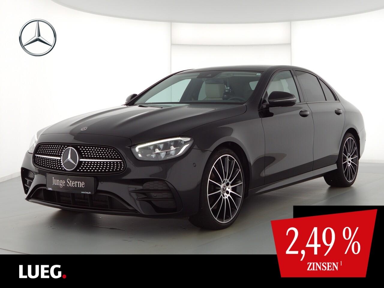 Mercedes-Benz E 200 d AMG+Burmester+Pano.-Dach+Night+LED, Jahr 2020, Diesel