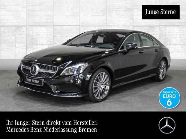 Mercedes-Benz CLS 500 Cp. AMG Airmat Multibeam Burmester Distr+, Jahr 2015, petrol