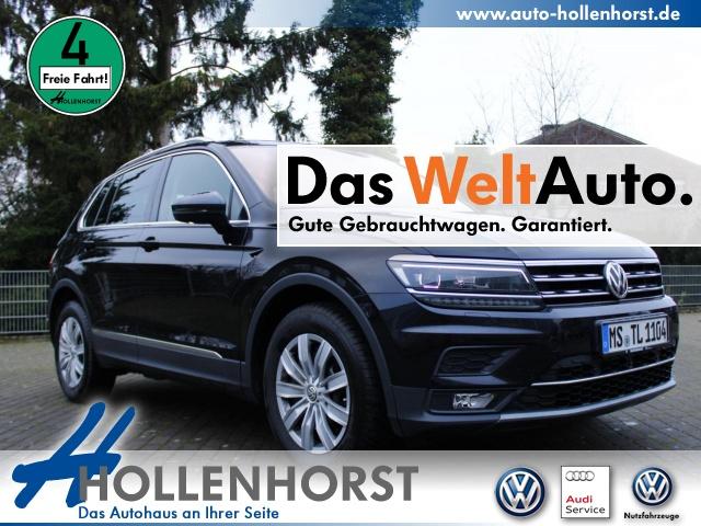 Volkswagen Tiguan Highline 2.0 l TDI SCR 110 kW (150 PS) Navi, Jahr 2019, Diesel