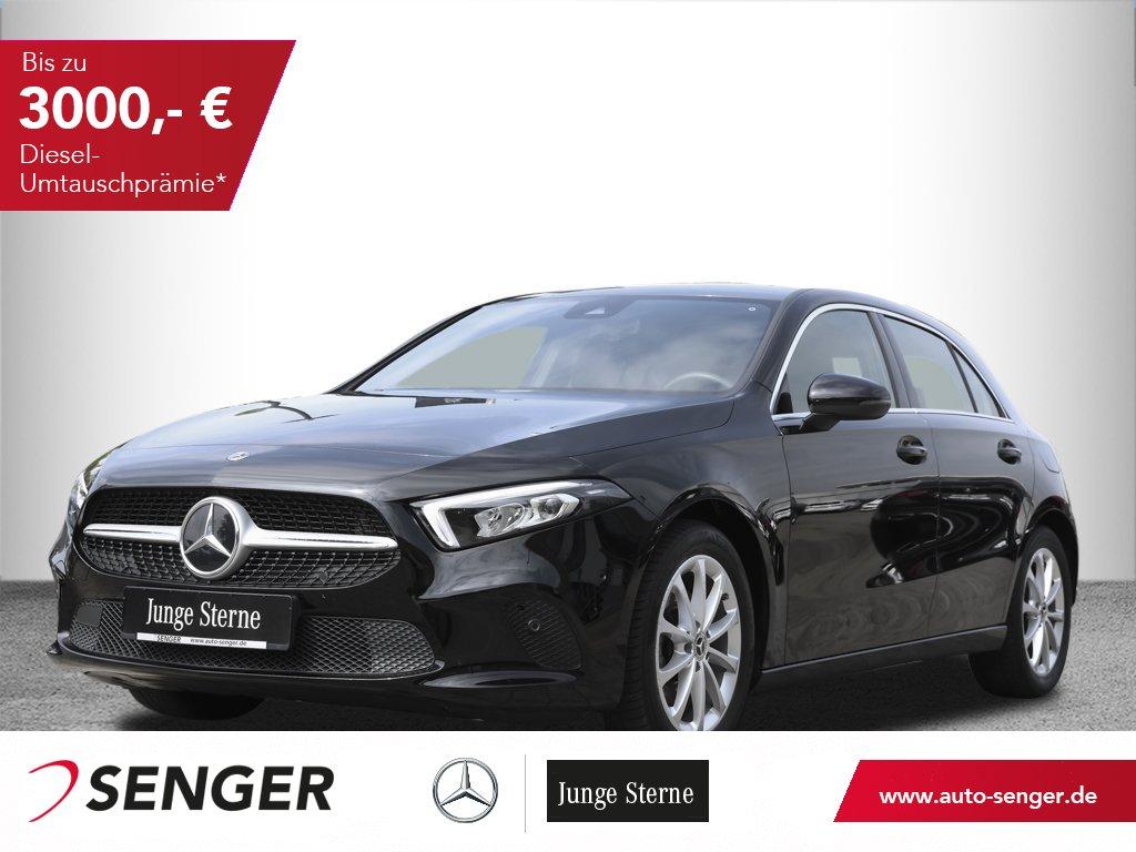 Mercedes-Benz A 200 *Progressive*Display digital*LED*Navi*PTS, Jahr 2019, Benzin