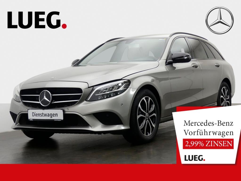 Mercedes-Benz C 160 T AVANTG.+9G+AHK+LED+NAVI+TEMPOM.+NP 45 T, Jahr 2019, Benzin