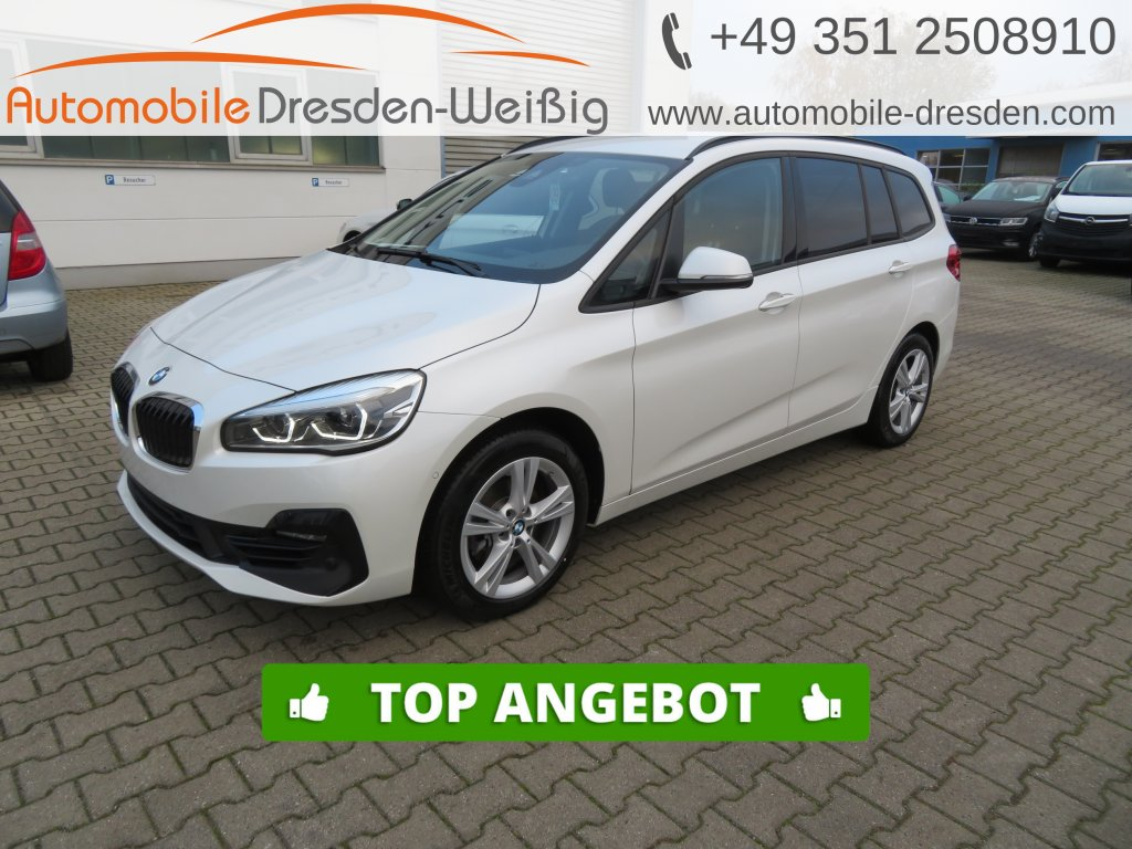 BMW 216 Gran Tourer i Sport Line*Navi*LED*17 Zoll*, Jahr 2019, Benzin
