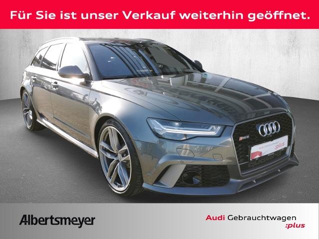 Audi RS6 Avant plus 4.0 TFSI quattro-Head up-Dynamikp, Jahr 2018, Benzin