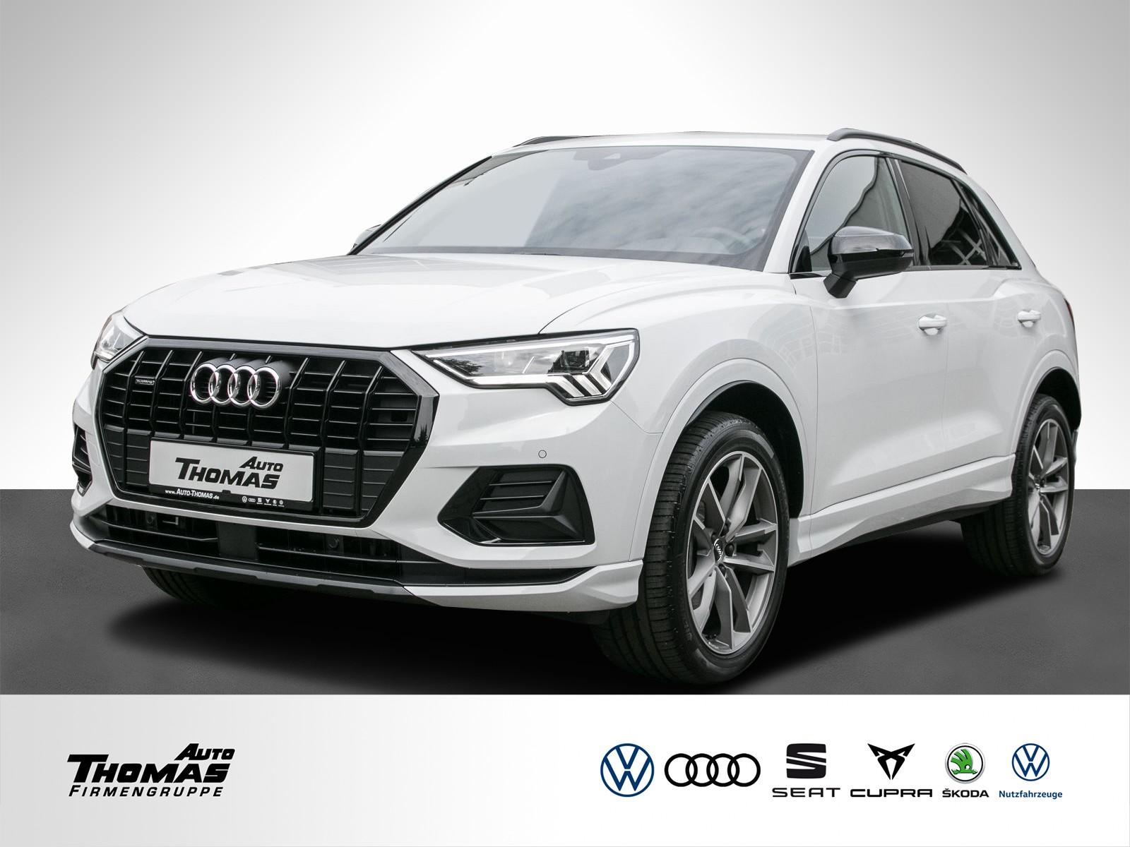 Audi Q3 advanced 40 TFSI quattro LED+S line Interior, Jahr 2020, Benzin
