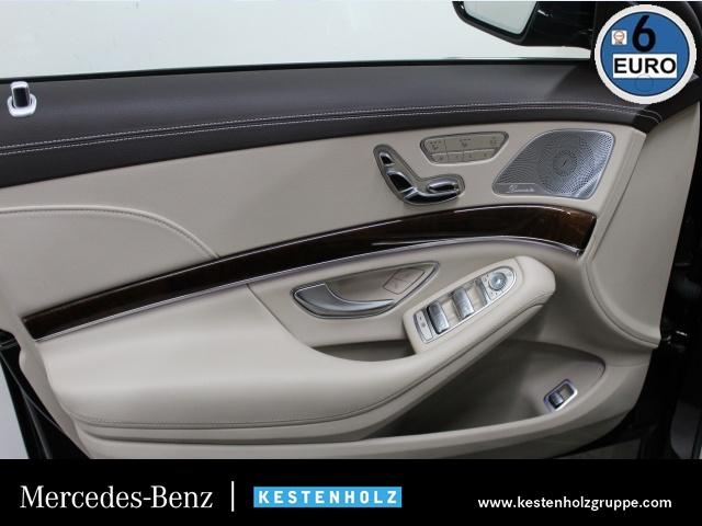 "Mercedes-Benz S 400 4M 360°+AIRMATIC+PANO+TV+DISTRO+COMAND+20"", Jahr 2016, petrol"