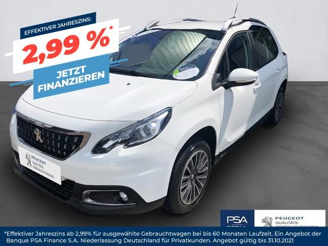 Peugeot 2008 PureTech 82 Active, Jahr 2017, Benzin