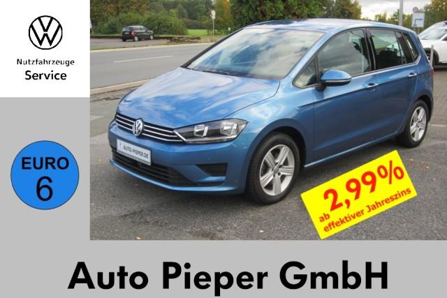 Volkswagen Golf Sportsvan TSI Comfortline Euro6 Navi SHZ, Jahr 2014, Benzin