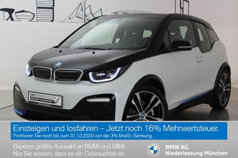 BMW i3 S 120 Ah RFK Navi Bus. RTTI Wärmep. Tempomat, Jahr 2019, Elektro
