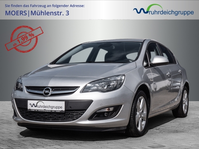 Opel Astra J Style Tempomat NAVI Sitz/Lenkradheizung, Jahr 2015, Benzin