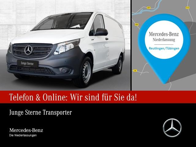 Mercedes-Benz eVito 111 Kasten Lang Klima Navi PTS Sitzhzg., Jahr 2021, Elektro