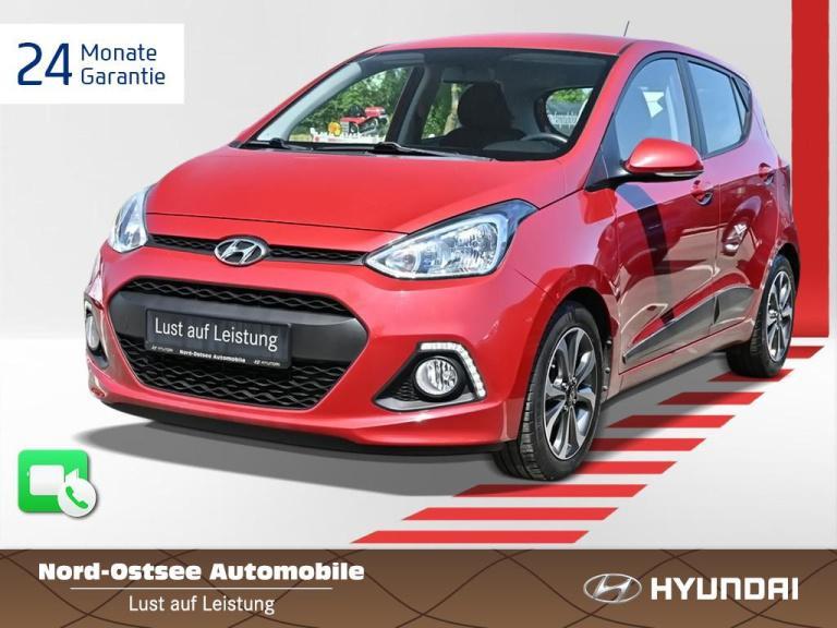 Hyundai i10 1.0 FIFA World Cup Edition Klimaanlage SHZ, Jahr 2015, Benzin