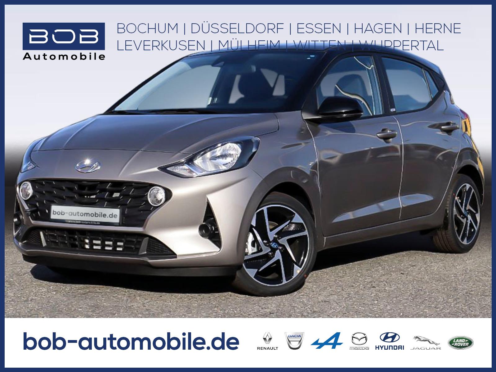 "Hyundai i10 1.2 Trend KomfortP 16""Alu PDC SHZ KLIMA, Jahr 2020, petrol"