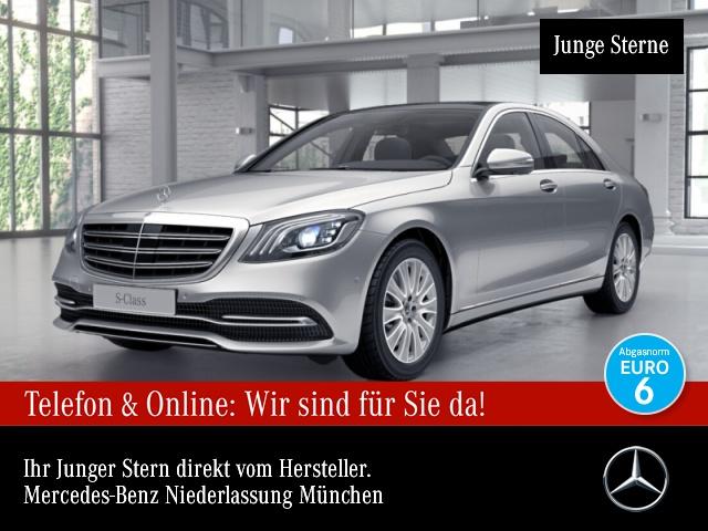 Mercedes-Benz S 450 4M 360° Pano Multibeam Burmester Distr. HUD, Jahr 2018, Benzin