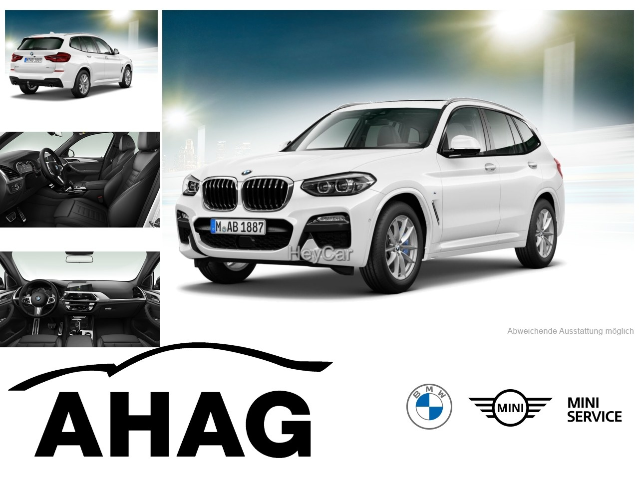 BMW X3 XDRIVE30D A, Jahr 2020, Diesel