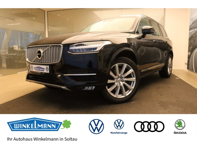 Volvo XC 90 2.0 D5 DPF Inscription AWD PDC LED Head-up-Display NAVI GRA SHZ, Jahr 2015, Diesel