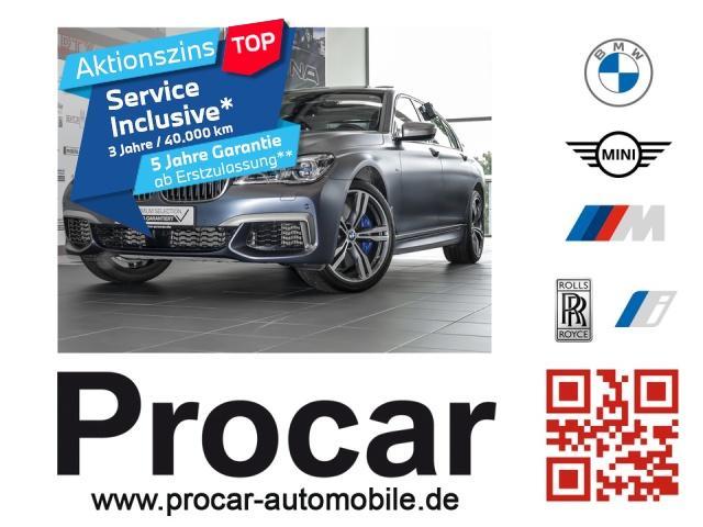 BMW M760Li xDrive V12 Excellence Fond-Entertain., Jahr 2016, Benzin