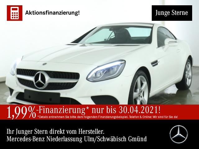 Mercedes-Benz SLC 200 Pano ILS Airscarf Totwinkel PTS Sitzheiz, Jahr 2019, Benzin