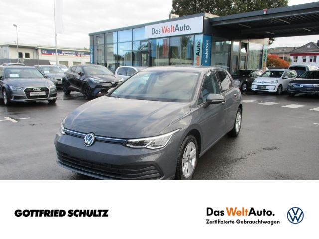 Volkswagen Golf Life 1.0 TSI LED NAVI PDC RFK SHZ, Jahr 2021, Benzin