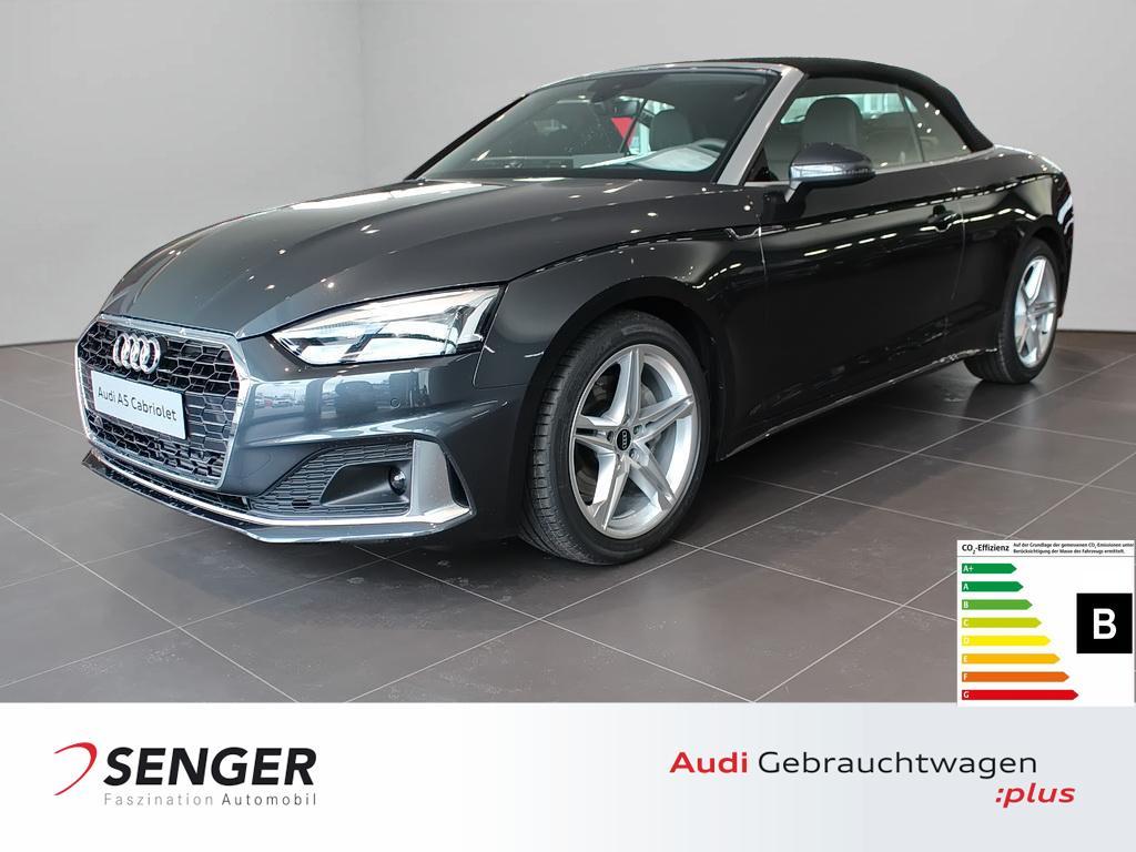 Audi A5 Cabriolet 40 TFSI Advanced Navi Massage DAB, Jahr 2021, Benzin
